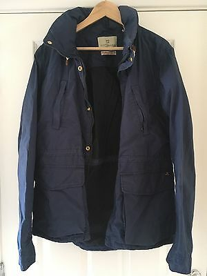 Mens Scotch & Soda Blue Anorak/Jacket - Size Large