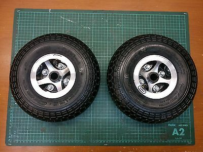 Invacare Leo Mobility Scooter Complete Rear Wheel Set (Pair) 3.00 - 4