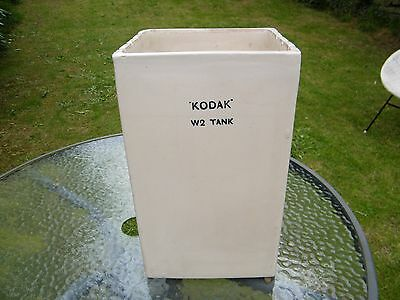 Vintage Ceramic Kodak Photograph Developing Tank - Industrial/Photography W2