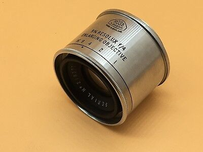 Ross Resolux 9cm (90mm) f4 Enlarging Lens