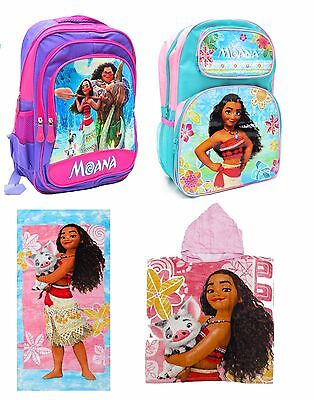 New Towel / Backpack Moana School Bag Kids Daycare Preschool Children Girls Toys
