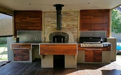 "Wood Fire Pizza Oven ""custom Made"""