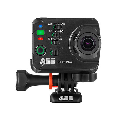AEE Technology S71T Plus Slow-Motion Action Camera with Waterproof Case and  LCD