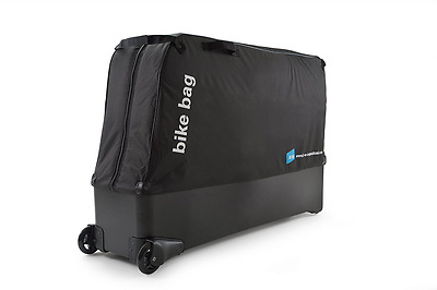 B & W International Bike Bag – SUITCASE Porta Bicycles, Black