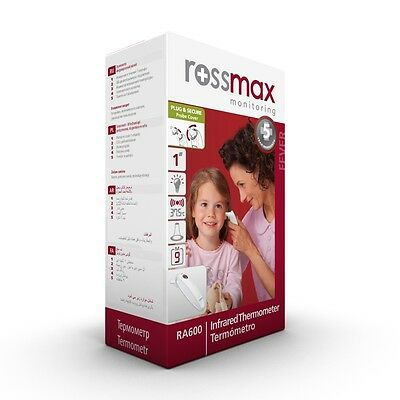 Rossmax RA600 Infrared Ear Thermometer