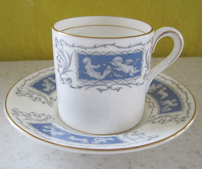 2 Lovely Vintage Coalport Revelry Coffee Cups And Saucers Espresso Demitasse
