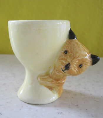 Lovely Vintage Sooty Bear Egg Cup Keele St Pottery