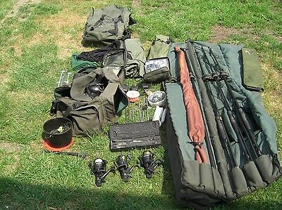 Carp Fishing Kit Complete Set Up