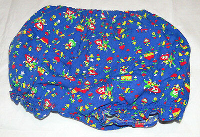 Vtg Baby Toddler swedish dutch  Vinyl Plastic Lined Diaper Pants