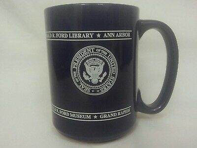 President of the United States Gerald R Ford Presidential Seal Coffee Mug Cup