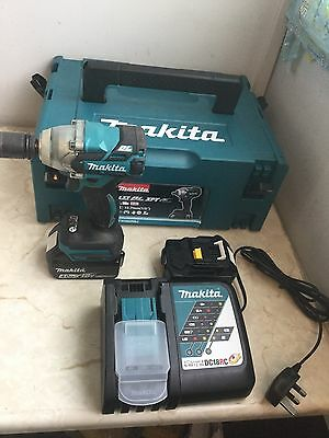 """Makita DTW285RMJ 18v LXT Brushless Impact Wrench 1/2"""" Drive Bare - 2 x 4.0ah"""