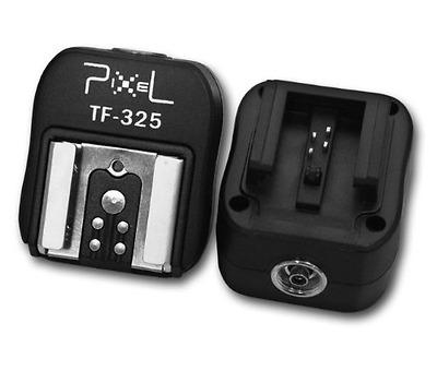 Pixel TF-325 Hotshoe Adapter for Sony Camera - Multi-Colour