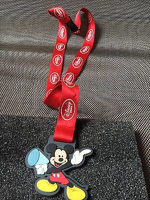 Mickey Mouse The Disney Store Pin Trading Laniard Limited Edition Cast Member Ex