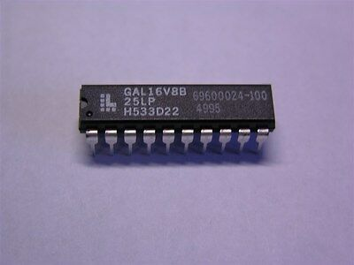 2 Lattice GAL16V8-25LP High Performance E2CMOS PLD Generic Array Logic IC's