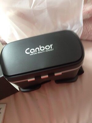 Canbor VR Headset, VR Goggles 3D VR Glasses Virtual Reality Headset VR Box