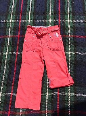 Girls Junior J Summer Trousers Shorts Age 3-4 Years