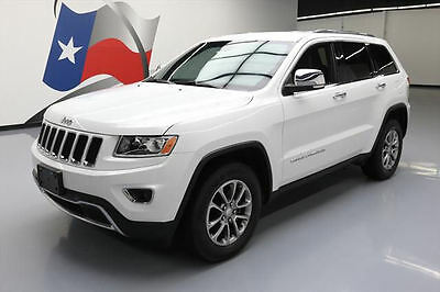2014 Jeep Grand Cherokee  2014 JEEP GRAND CHEROKEE LIMITED HTD LEATHER NAV 53K MI #509738 Texas Direct