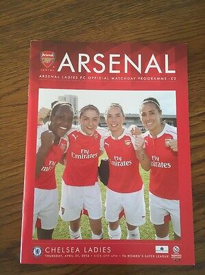 Arsenal Ladies v Chelsea Ladies 21 Apr 2016