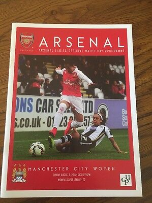 Arsenal Ladies v Manchester City Women 9 Aug 2015