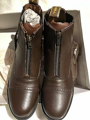 TBK ELEGANCE  Short Jodhpur Boots Brown Size 5 *only 2 Pairs!*