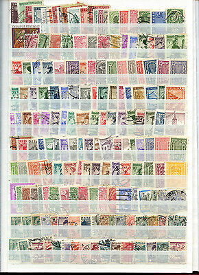 Austria Stockpage Full Of Stamps #B4422