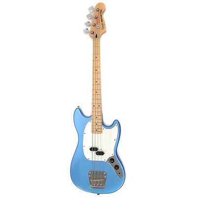 Used Electric Bass Guitar Squier by Fender / Vintage Modified MUSTANG Bass 2012