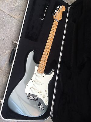 USA 1999 Fender Stratocaster Plus In Pewter Colour With Hard Case