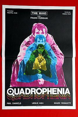Quadrophenia Who Sting Toyah 1979 Rare Exyu Movie Poster
