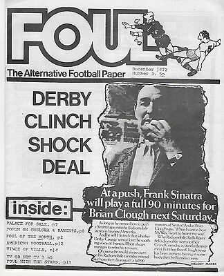 RARE Foul Magazine: Alternative Football Paper: 26 (out of 34) editions 1972-76