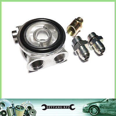 Oil Cooler Adapter with Thermostat VW Golf Corrado Passat Polo Sharan VR6 GTI