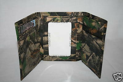 Realtree Hwg Camo Leather Trifold Billfold - Wallet