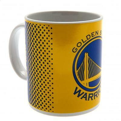 Official Licensed NBA Product Golden State Warriors Mug Fade Cup Coffee Gift Box
