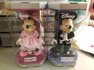 2006 disney porcelain mickey and minnie mouse