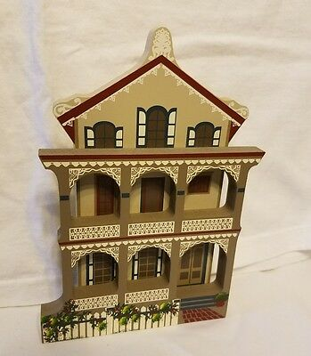 1993 Shellas Collectables Stockton Place Row Homes Cape May New Jersey Pre Owned