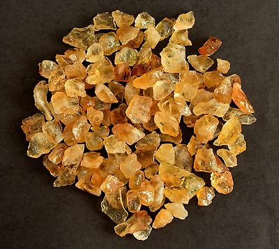Certified 161 CTS 100%.Natural Brazilian Original Yellow Citrine Rough.Gemstone