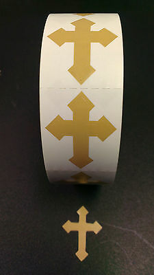 Tanning Bed Body Stickers Tattoo   Cross  Quantity 1000 Stickers on a Roll