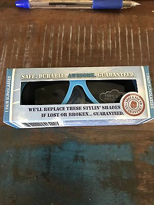 Babiators Baby Kids Sunglasses Beach Baby Blue Ages 0-3 New In Box