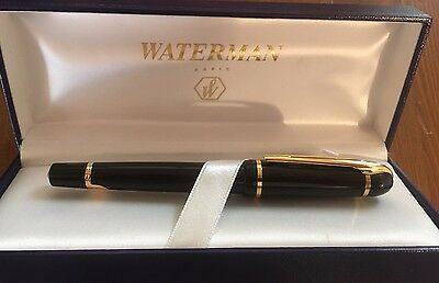 WATERMAN Phileas Fuellfederhalter Fountain Pen Stilografica (M)+ Etui