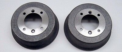 2 x CLASSIC MINI STANDARD NON SPACED FRONT & REAR BRAKE DRUM ALL MODELS 1959-84