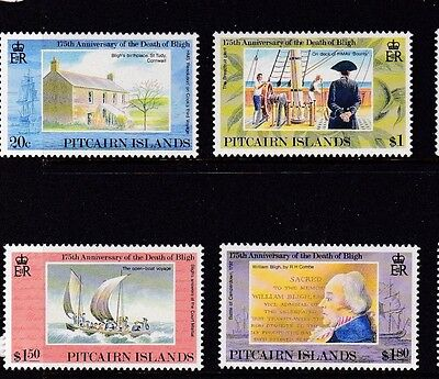 Pitcairn 1992 Death Anniversary of William Bligh MNH (4)