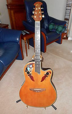 Ovation Celebrity DeLuxe 6 string Electro Acoustic  Guitar