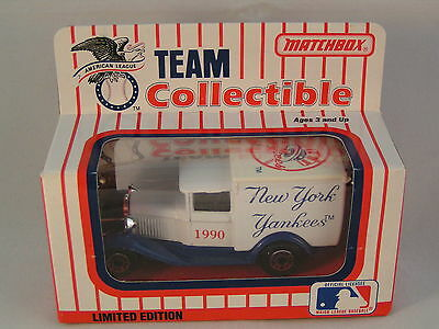 Matchbox New York Yankees Made In Macao