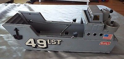 VTG. BUDDY L WW II LST LANDING CRAFT - Good Condition with FREE SHIPPING !!