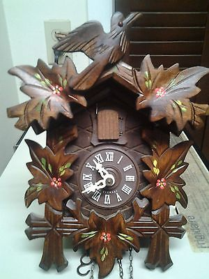Cuckoo Clock Vintage August Schwer Awesome Price For Beautful Clock!