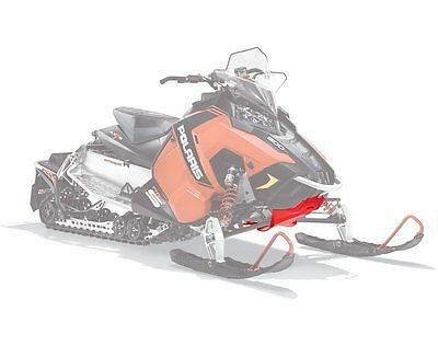 AXYS® Extreme Snowmobile Skid Plate - Red by Polaris