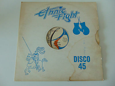 "Ethnic Fight Label 12"" Freddie McGregor Love Ballad /Rod Bryan Standing In There"
