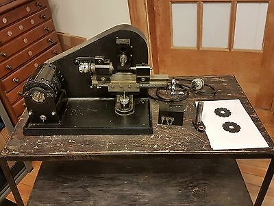Watchmakers or Clockmakers Pinion Cutter MFG by Cronos England #133 USED