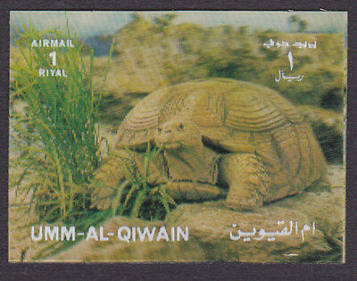 Umm Al Qiwain Mint NH 3D Animal Turtle Tortoise (AB_18)