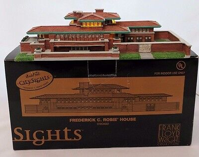Marshall Fields City Sights Chicago Frederick C Robie House  Very Rare Wright