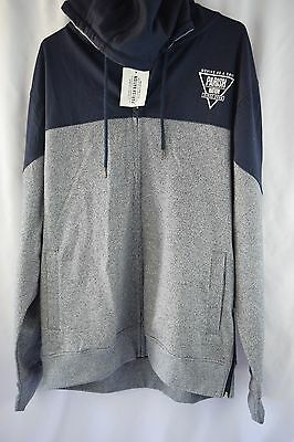 "Parish Nation Navy /""Loop Back/"" Full Zip Hoodie"